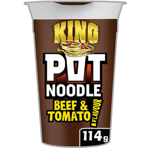 King Pot Noodle Beef and Tomato