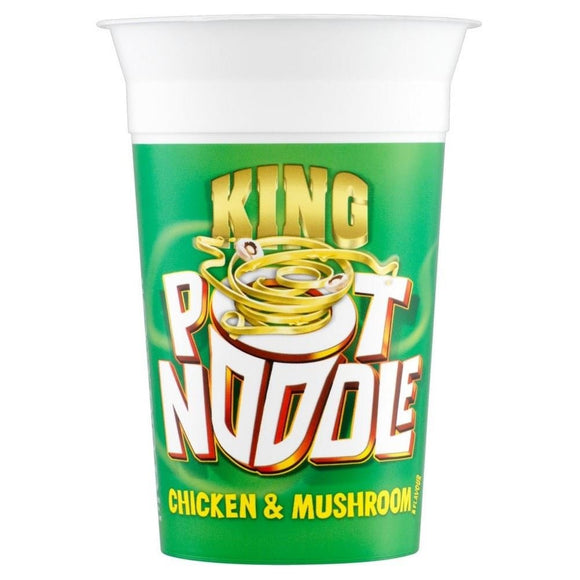 King Pot Noodle Chicken & Mushroom