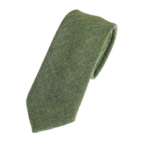 Lovat Green Tweed Tie