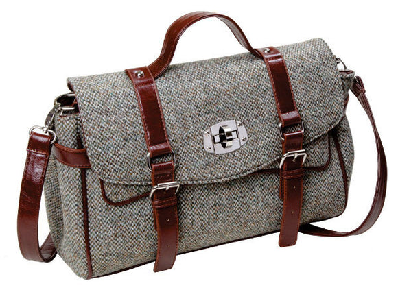 Carron Harris Tweed Satchel