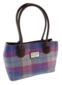 Cassley Harris Tweed Handbag - COL54
