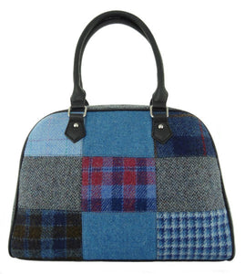 Nairn Harris Tweed Patchwork Bag