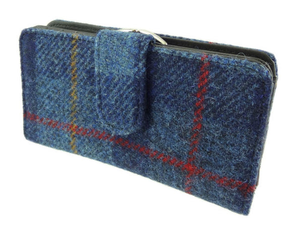 Iona Harris Tweed Long Clasp Wallet