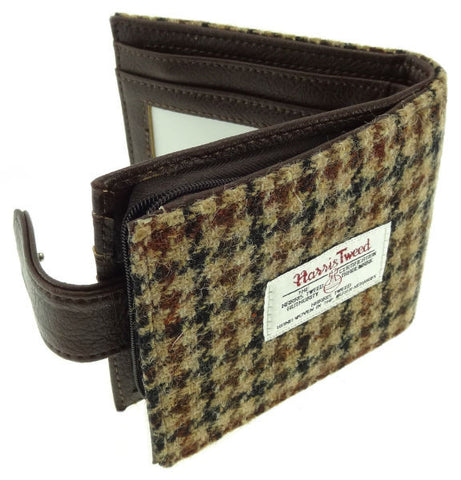 Barra Harris Tweed Wallet with Coin Section