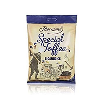 Thorntons Special Toffee Liquorice Bag