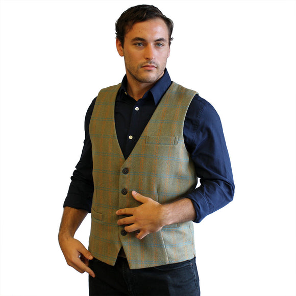 Irish Wool Tweed Vest