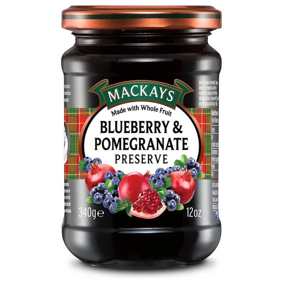 Mackay's Blueberry & Pomegranate Preserve