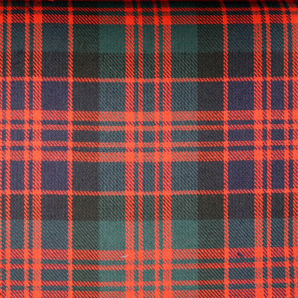 MacDonald Tartan Poly Viscose Cloth