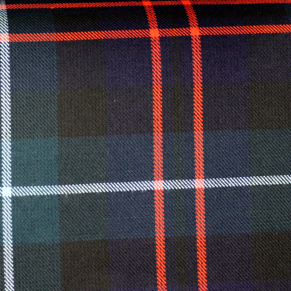 MacIntyre Hunting Tartan Poly Viscose Cloth