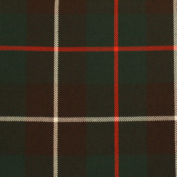MacKinnon Tartan Poly Viscose Cloth
