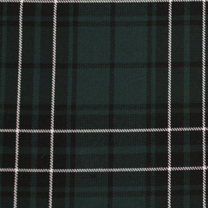 MacLean Hunting Tartan Poly Viscose Cloth