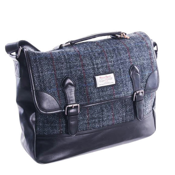Harris Tweed Berneray Brief Case