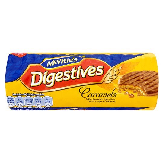 McVities Caramel Digestives