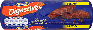 McVities Digestives Double Chocolate