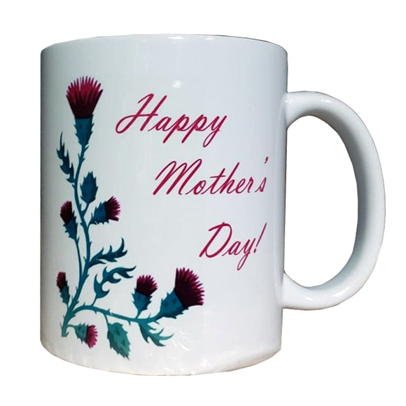 Thistle Mother's Day Mug