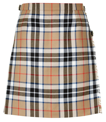 Mini Kilted Skirt