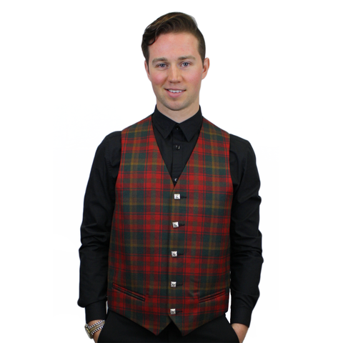 Maple Leaf Tartan Vest