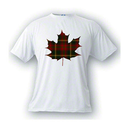 Tartan Maple Leaf Unisex T-Shirt