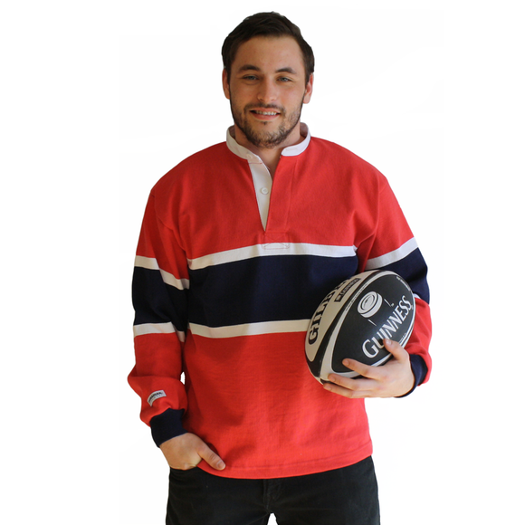 Montreal Heritage Stripe Rugby Shirt