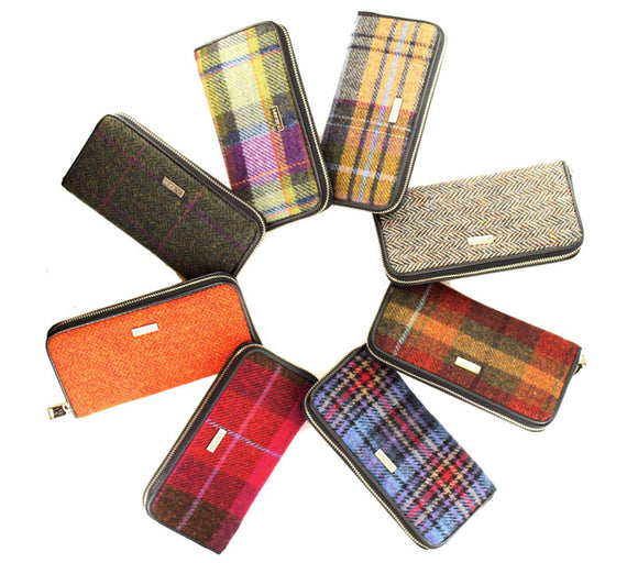 Mucros Weavers Tweed Wallet