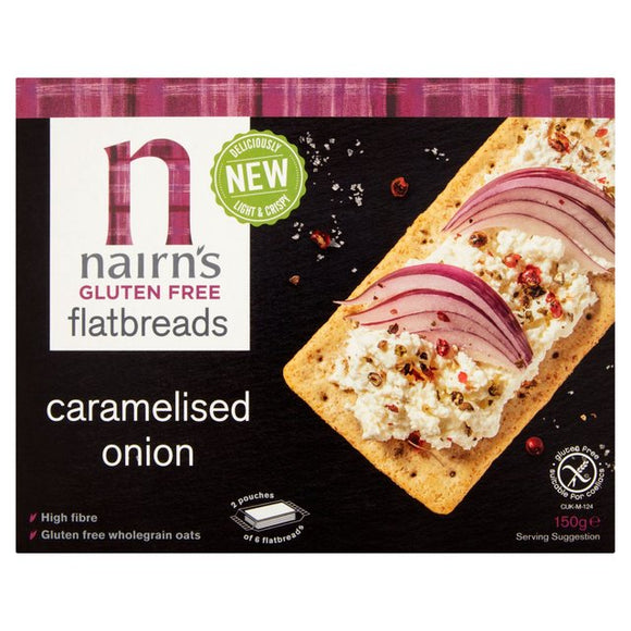 Nairn's GF Caramelised Onion Flatbread
