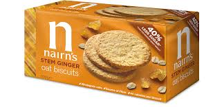 Nairn's Oat Biscuits Stem Ginger