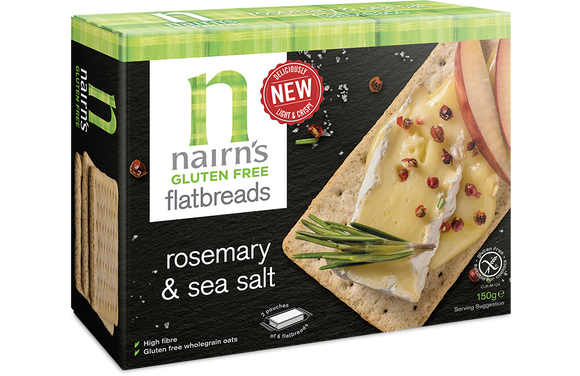 Nairn's Rosemary& Sea Salt Flatbread