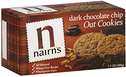 Nairn's Wheat Free Oat Cookies Dark Chocolate Chip