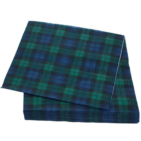 Black Watch Tartan Napkins
