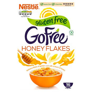 Nestle GF Go Free Honey Cornflakes