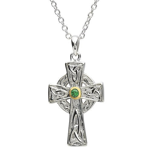 PlatinumWare Celtic Cross Pendant