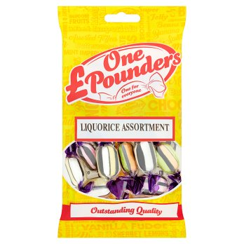 One Pounders Liquorice Assortment