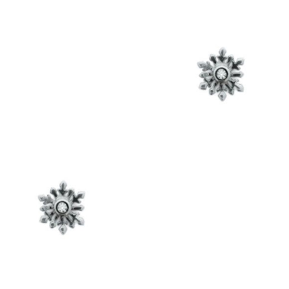 Outlander Inspired Snowflake Stud Earrings