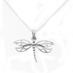 Outlander Inspired Dragonfly Pendant