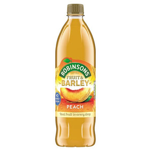 Robinsons Peach Fruit & Barley No Added Sugar
