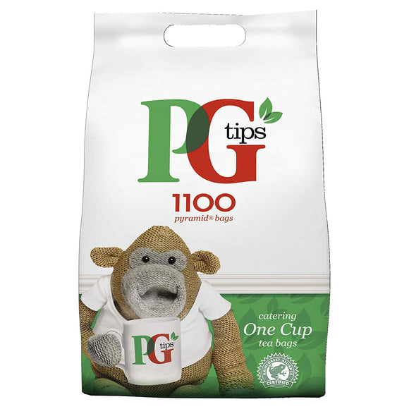PG Tips One Cup 1100 Teabags