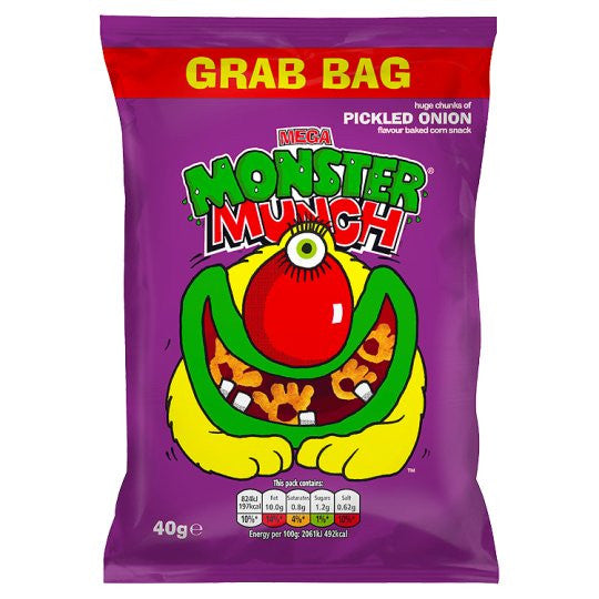 Walker's Monster Munch Mega Pickled Onion