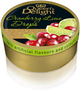 Queen's Delight Travel Sweets Cranberry & Lime