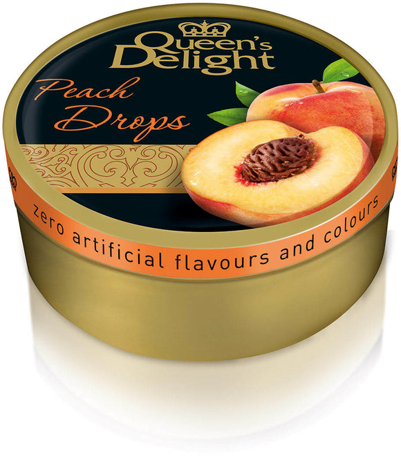 Queen's Delight Travel Sweets Peach