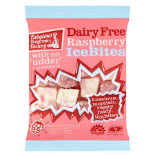 Fabulous Free From Factory Dairy Free Raspberry Ice Bites