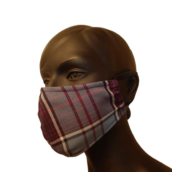 Royal Canadian Airforce Tartan Cloth Face Mask
