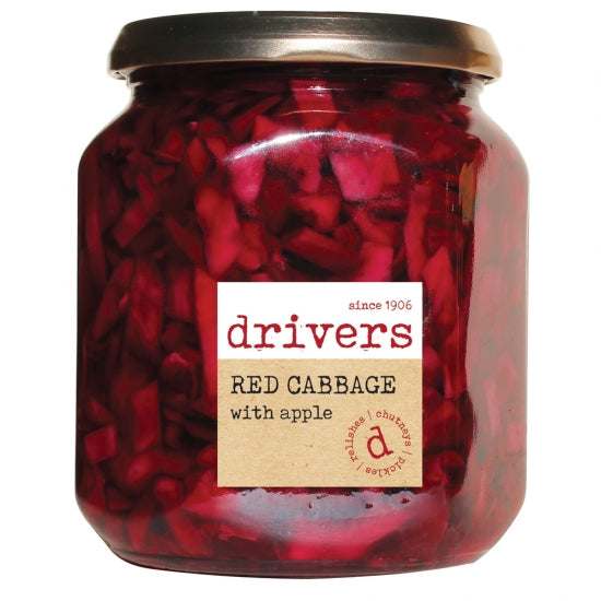 Driver's Red Cabbage with Apple