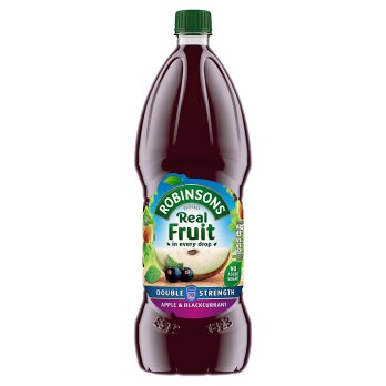 Robinsons Apple Blackcurrant No Added Sugar Double Concentrate