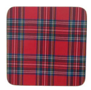 Royal Stewart Coasters (Set of 6)