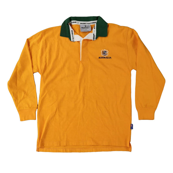 Small Australia Gold Rugby Shirt