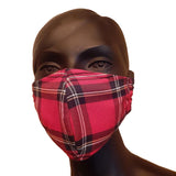 Royal Stewart Tartan Cloth Face Mask