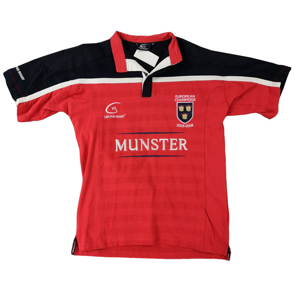 Small Munster Short Sleeve Rugby Shirt