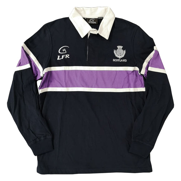 Large LFR Scotland Navy Rugby Shirt