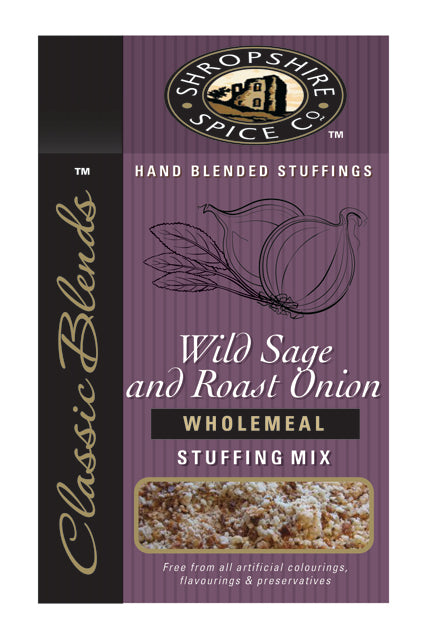 Shropshire Wild Sage and Roast Onion Wholemeal Stuffing Mix