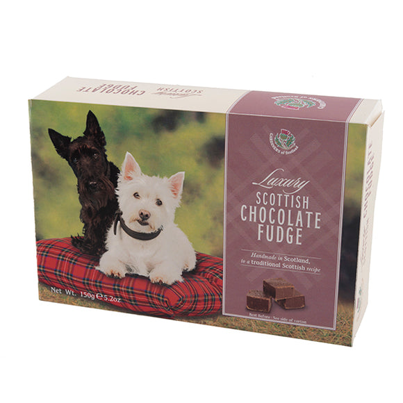 Scottie Dogs Chocolate Fudge Carton